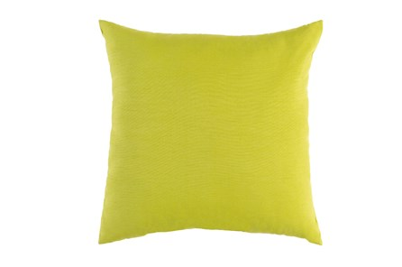Outdoor Accent Pillow-Solid Lime 16X16 - Main