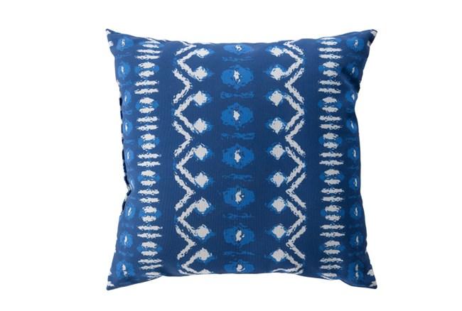 Outdoor Accent Pillow-Indigo Batik 18X18 - 360
