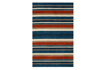 53X81 Youth Rug-Sports Stripe
