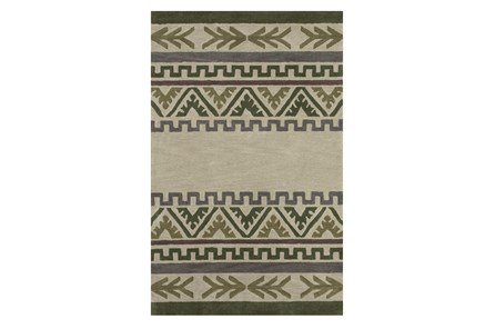 53X81 Youth Rug-Wilderness Striped Pattern