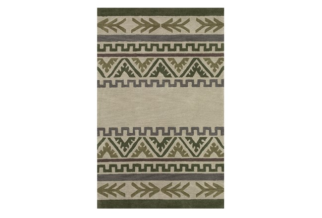 53X81 Youth Rug-Wilderness Striped Pattern - 360