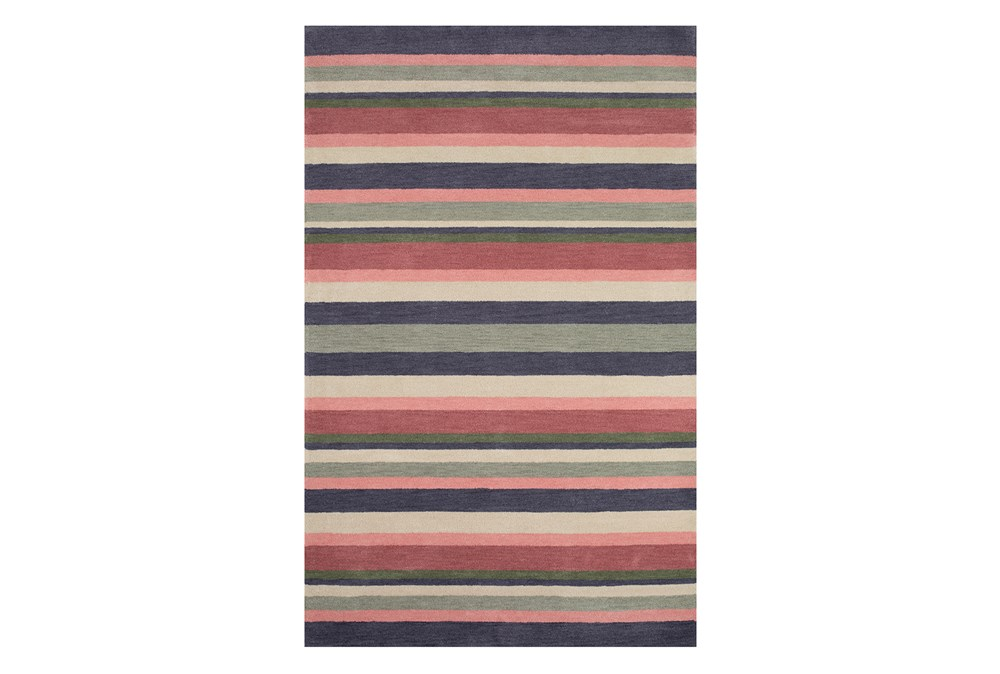"4'4""x6'8"" Youth Rug-Botanical Stripe"