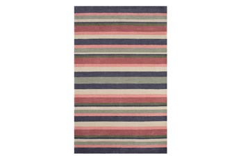 53X81 Youth Rug-Botanical Stripe