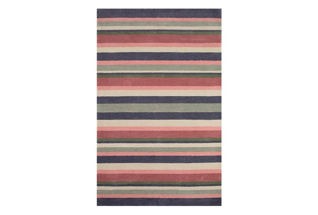 "4'4""x6'8"" Youth Rug-Botanical Stripe - 360"