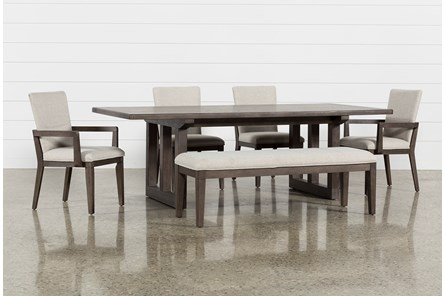Helms 6 Piece Rectangle Dining Set - Main