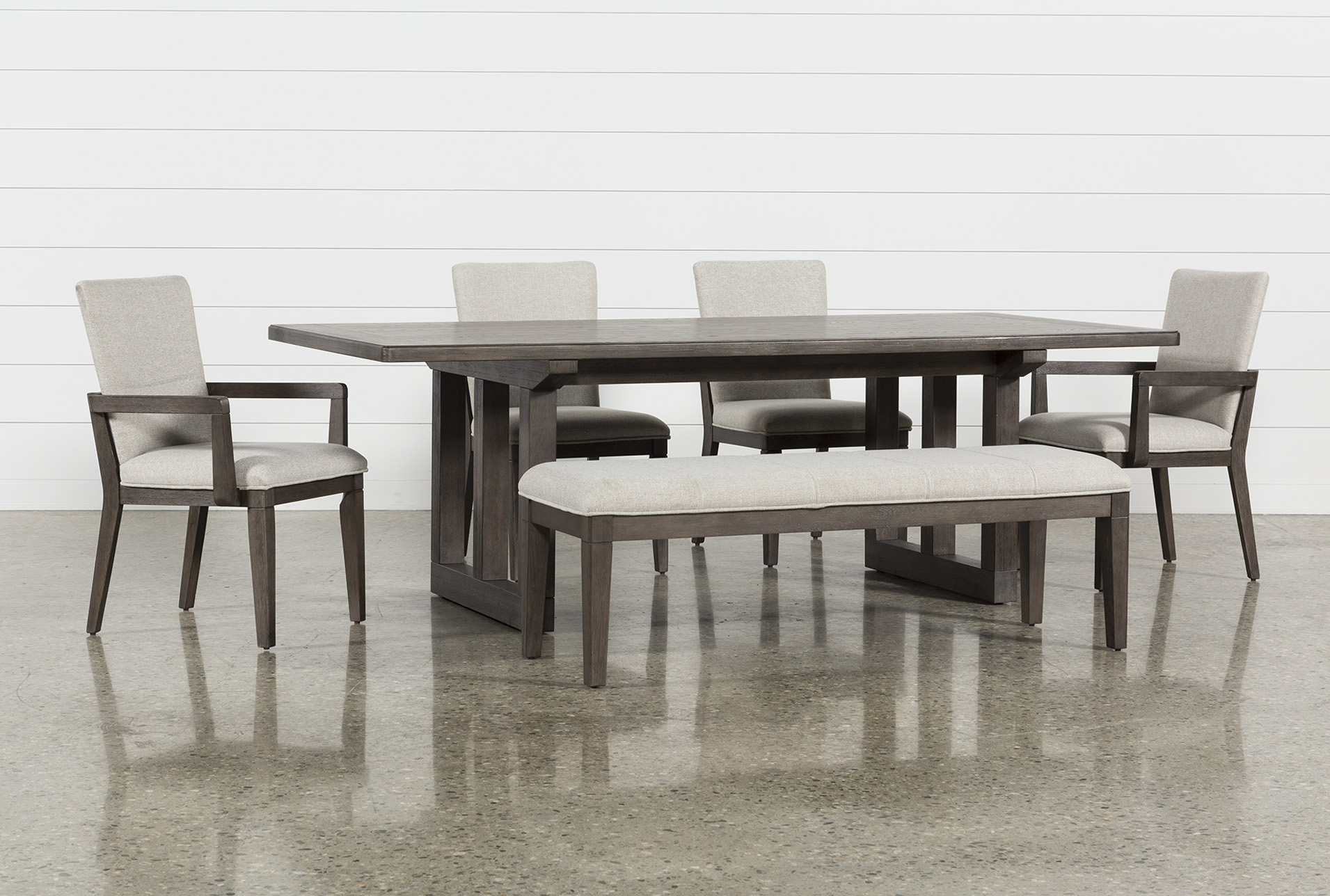 Helms 6 Piece Rectangle Dining Set (Qty: 1) Has Been Successfully Added To  Your Cart.