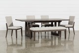 Helms 6 Piece Rectangle Dining Set With Side Chairs - Signature