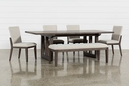 Helms 6 Piece Rectangle Dining Set With Side Chairs