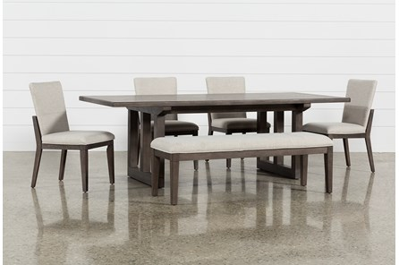 Helms 6 Piece Rectangle Dining Set With Side Chairs - Main