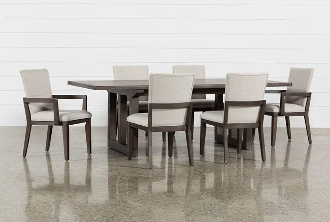 Helms 7 Piece Rectangle Dining Set - 360