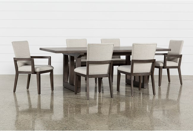 Helms 7 Piece Rectangle Dining Set - 360