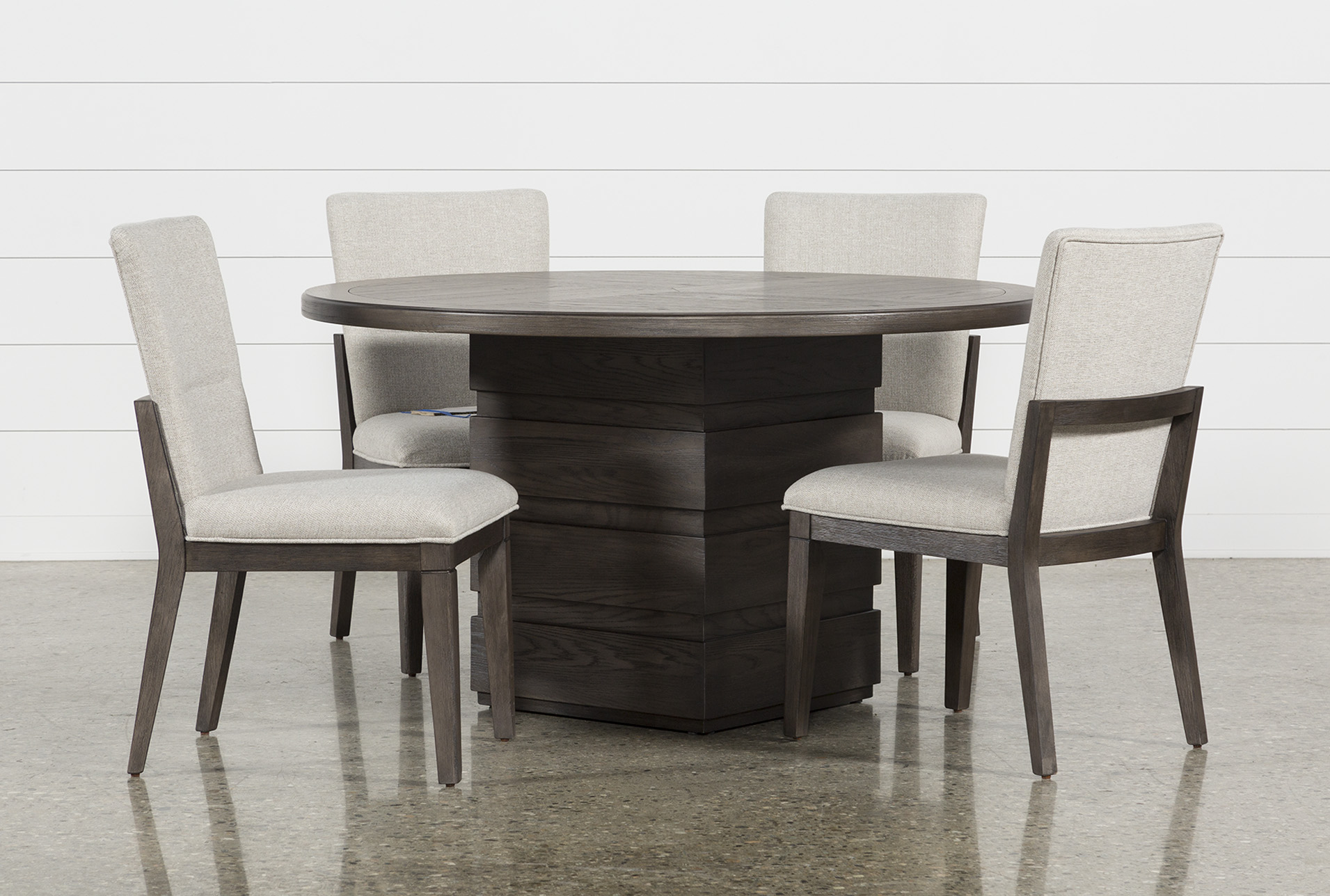 Helms 5 Piece Round Dining Set With Side Chairs (Qty: 1) Has Been  Successfully Added To Your Cart.