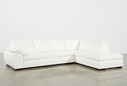 Vaughn Alabaster 2 Piece Sectional With Right Facing Chaise