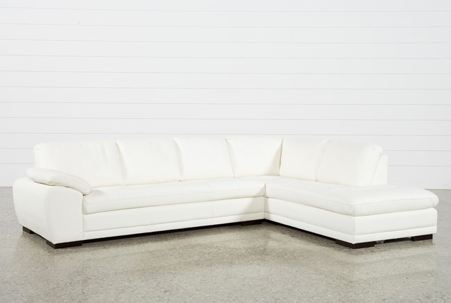Vaughn Alabaster 2 Piece Sectional With Right Facing Chaise - 360