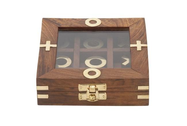 Tic Tac Toe Game Box - 360