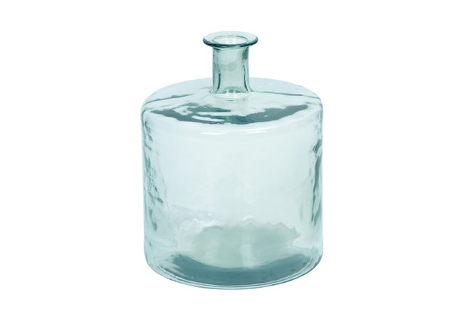 17 Inch Square Clear Glass Jug - 360