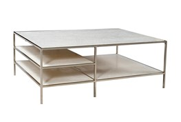 Iron Marble Coffee Table