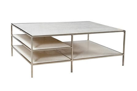 Iron Marble Coffee Table - Main