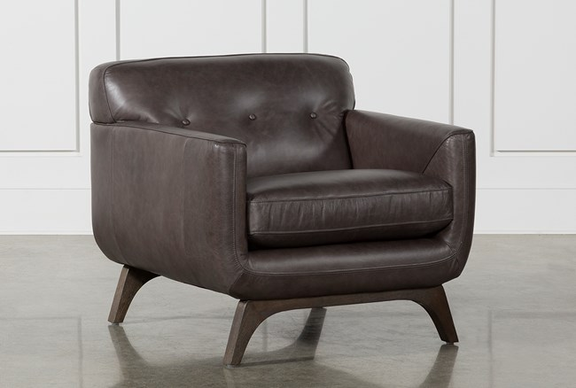 Cosette Leather Chair - 360