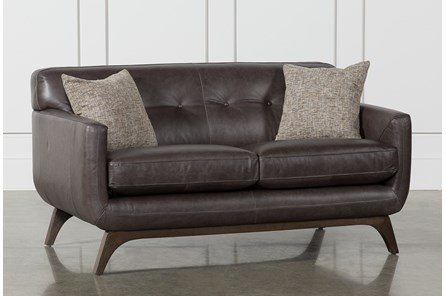 Cosette Leather Loveseat
