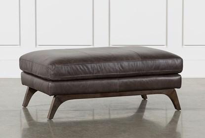 Stupendous Cosette Leather Cocktail Ottoman Cjindustries Chair Design For Home Cjindustriesco