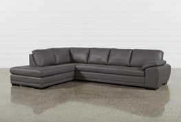 Vaughn II Granite 2 Piece Sectional W/Laf Chaise