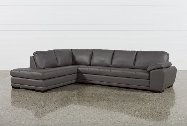 Vaughn II Granite 2 Piece Sectional W/Laf Chaise - 360