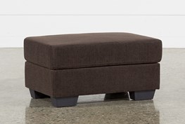 Jobs Dark Chocolate Ottoman