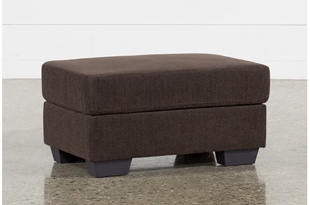 Jobs Dark Chocolate Ottoman - Main
