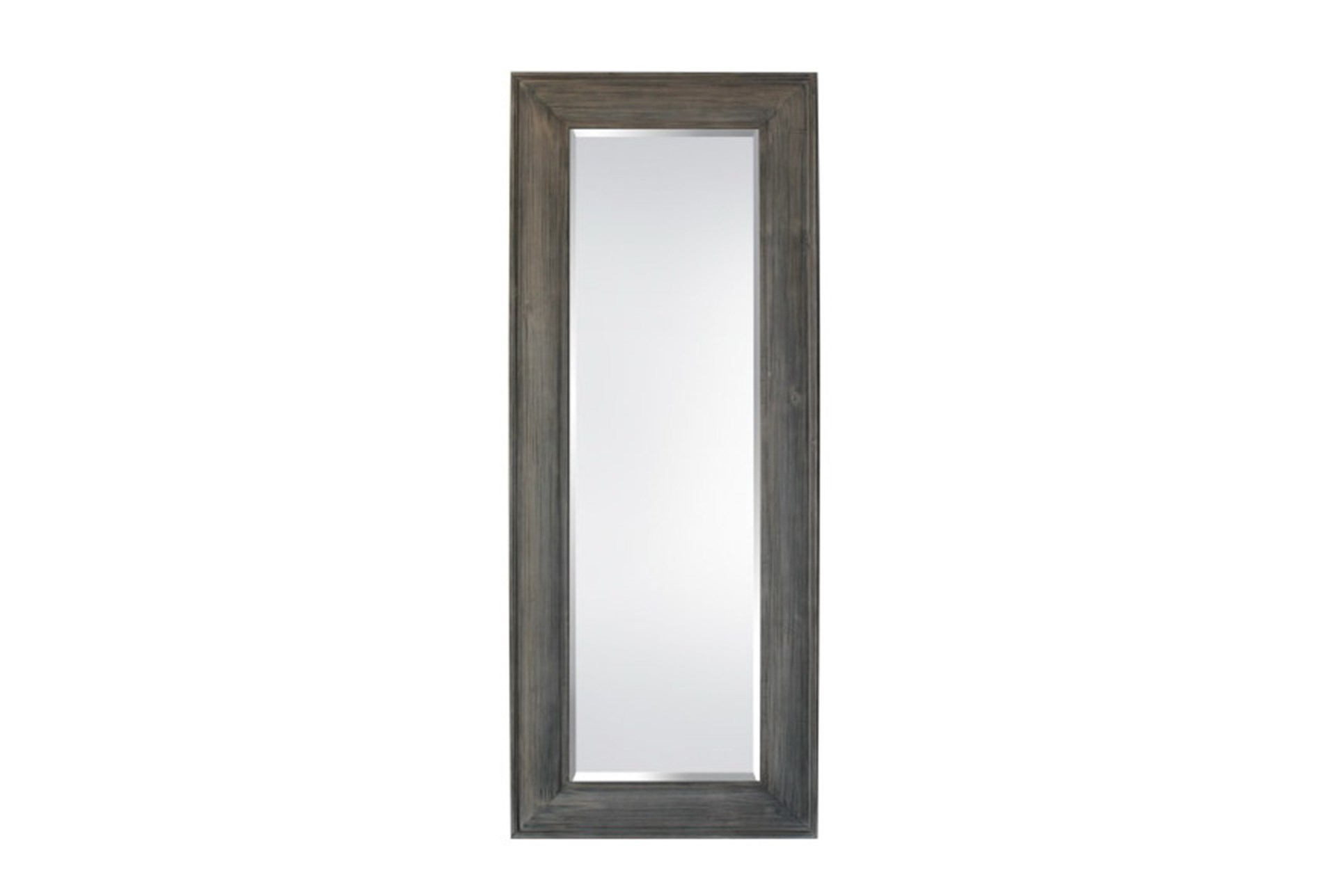 Leaner Mirror-Greystone Wash 33X83 | Living Spaces