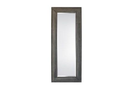 Leaner Mirror-Greystone Wash 33X83