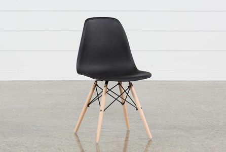 Cole II Black Side Chair