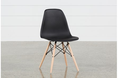 Cole II Black Side Chair - Main