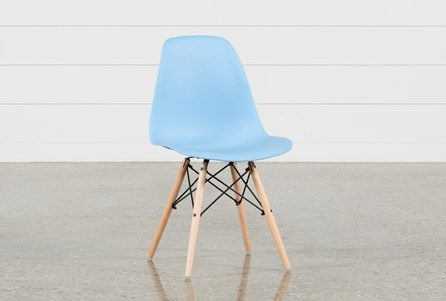 Cole II Blue Side Chair
