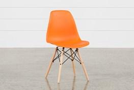Cole II Orange Side Chair