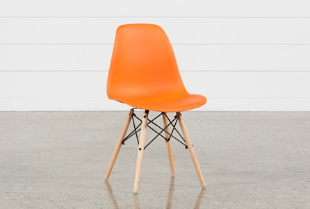 Cole II Orange Side Chair