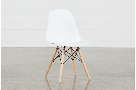 Cole II White Side Chair