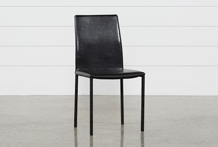 Hayden II Black Side Chair