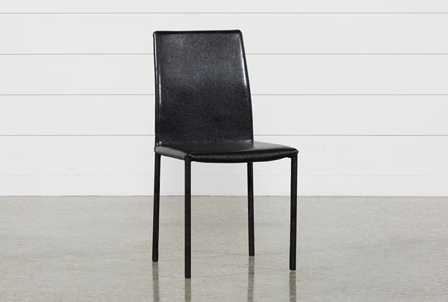 Hayden II Black Side Chair - 360