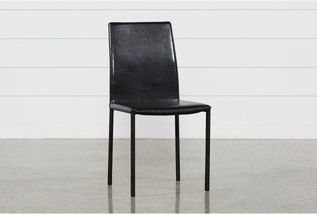 Hayden II Black Side Chair - 360