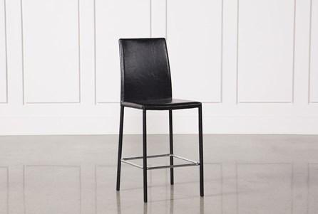 Hayden II Black 26 Inch Counterstool