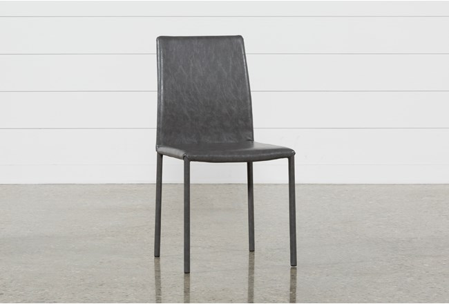 Hayden II Grey Side Chair - 360