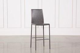 Hayden II Grey 30 Inch Barstool