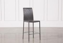 Hayden II Grey 26 Inch Counterstool