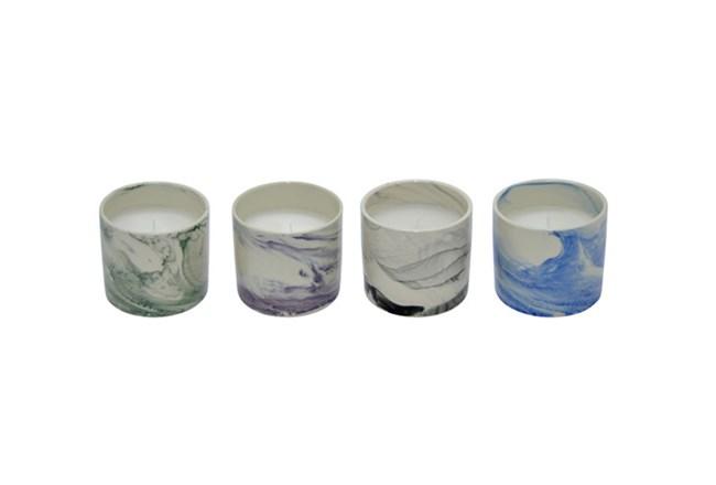 Assorted 12 Inch Multi-Colored Citronella Candle - 360