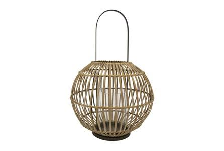 12 Inch Bamboo Lantern