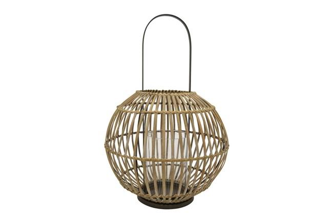 12 Inch Bamboo Lantern - 360
