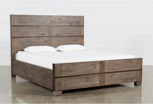 Lassen Eastern King Panel Bed | Living Spaces