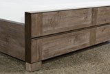 Lassen Eastern King Panel Bed - Material