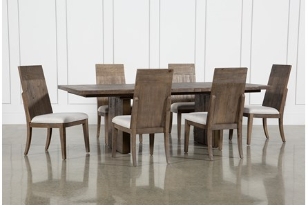 Lassen 7 Piece Extension Rectangle Dining Set - Main